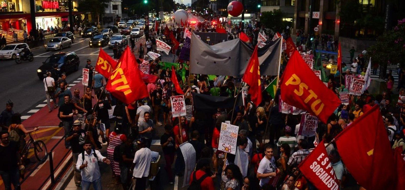 [Centrais sindicais aprovam anúncio de greve geral contra a reforma da Previdência]