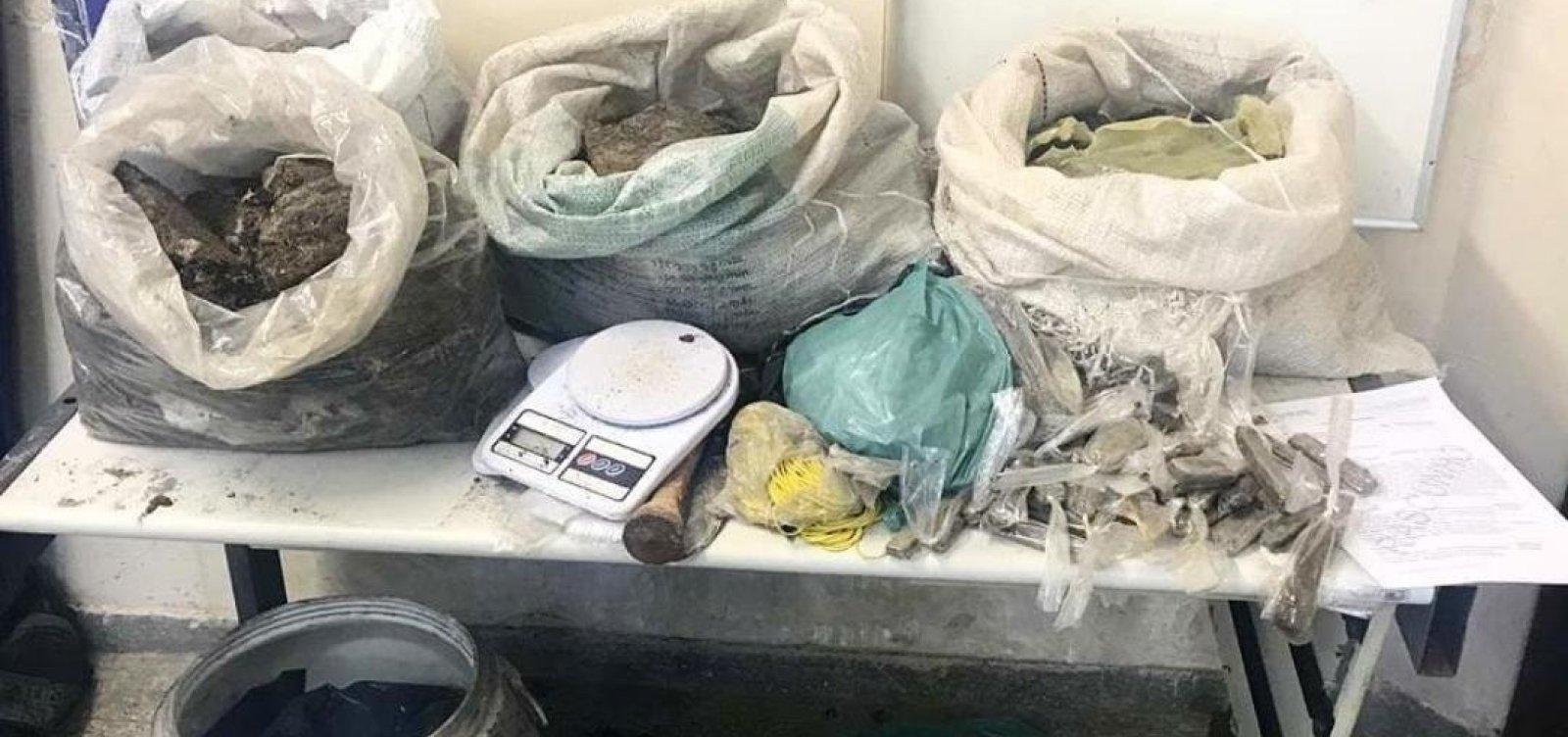 [60 kg de maconha são achados enterrados em Abrantes]