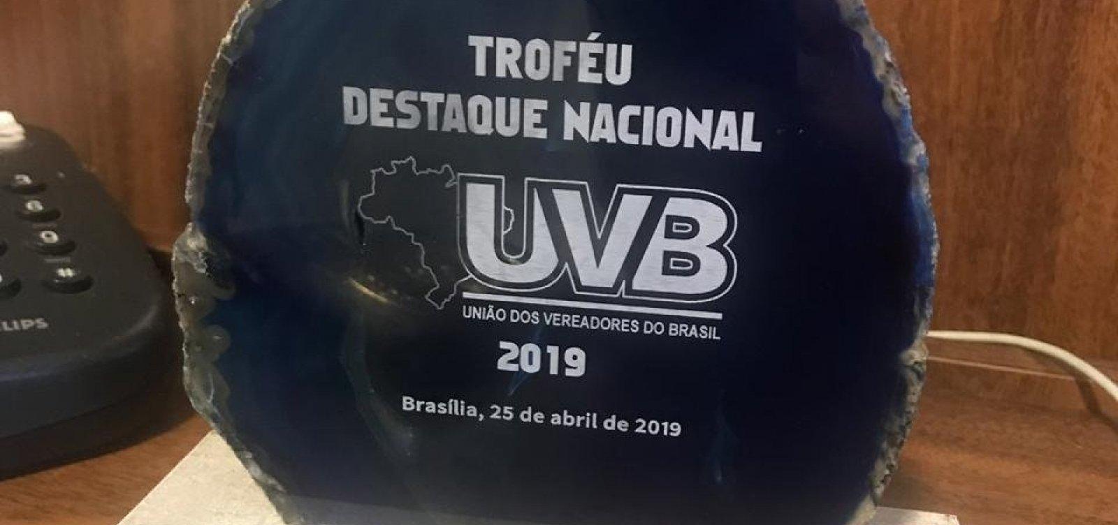[Município baiano é destaque em premiação nacional em Brasília]