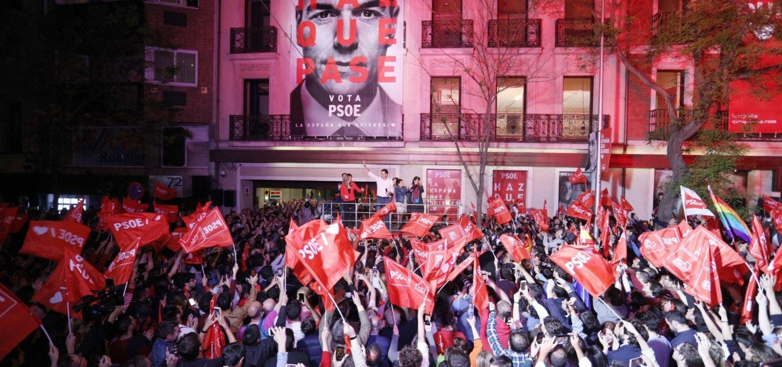 [PSOE vence eleições na Espanha, mas sem maioria para governar]