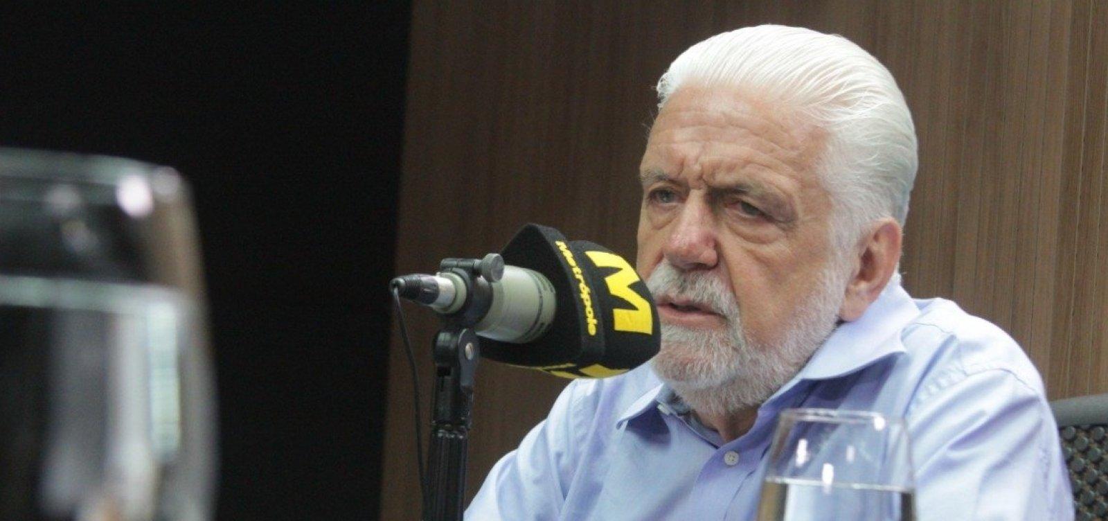 [Wagner disse a Lula que topava ser vice de Ciro ou Josué Alencar]