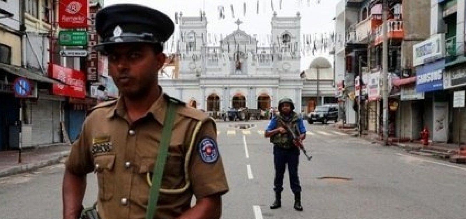 [Autoridades do Sri Lanka alertam para novos ataques]