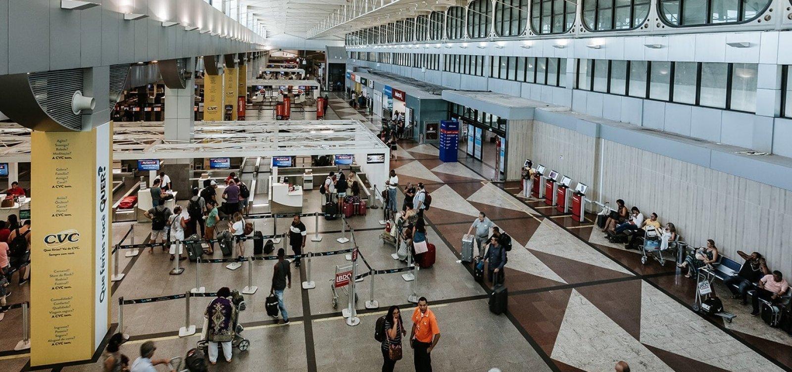 [Aeroporto de Salvador suspende interrupção no sistema de ar-condicionado]