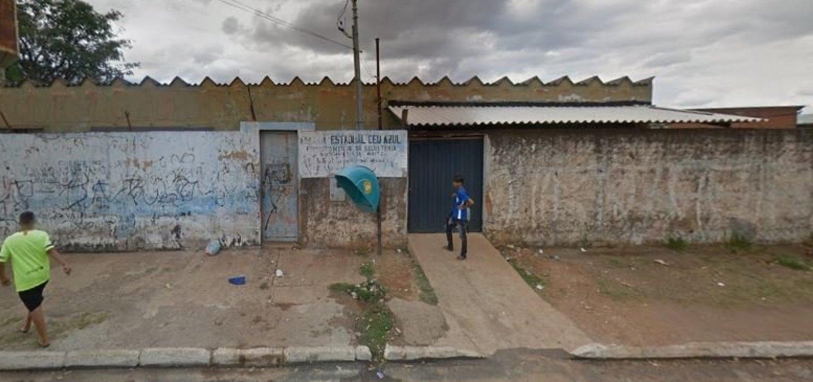 [Aluno mata professor a tiros dentro de escola em Goiás]