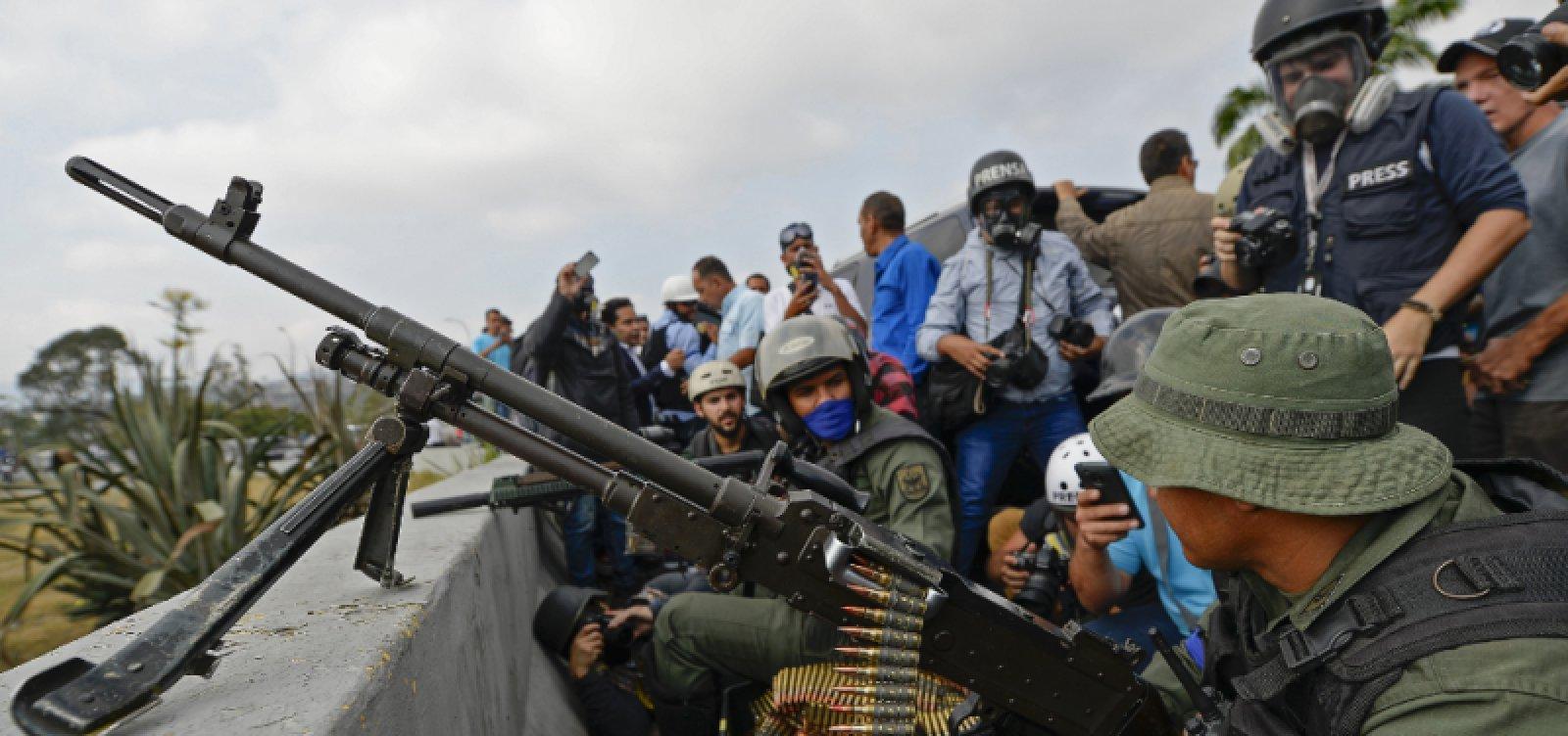[Brasil autoriza asilo a 25 militares venezuelanos em embaixada]