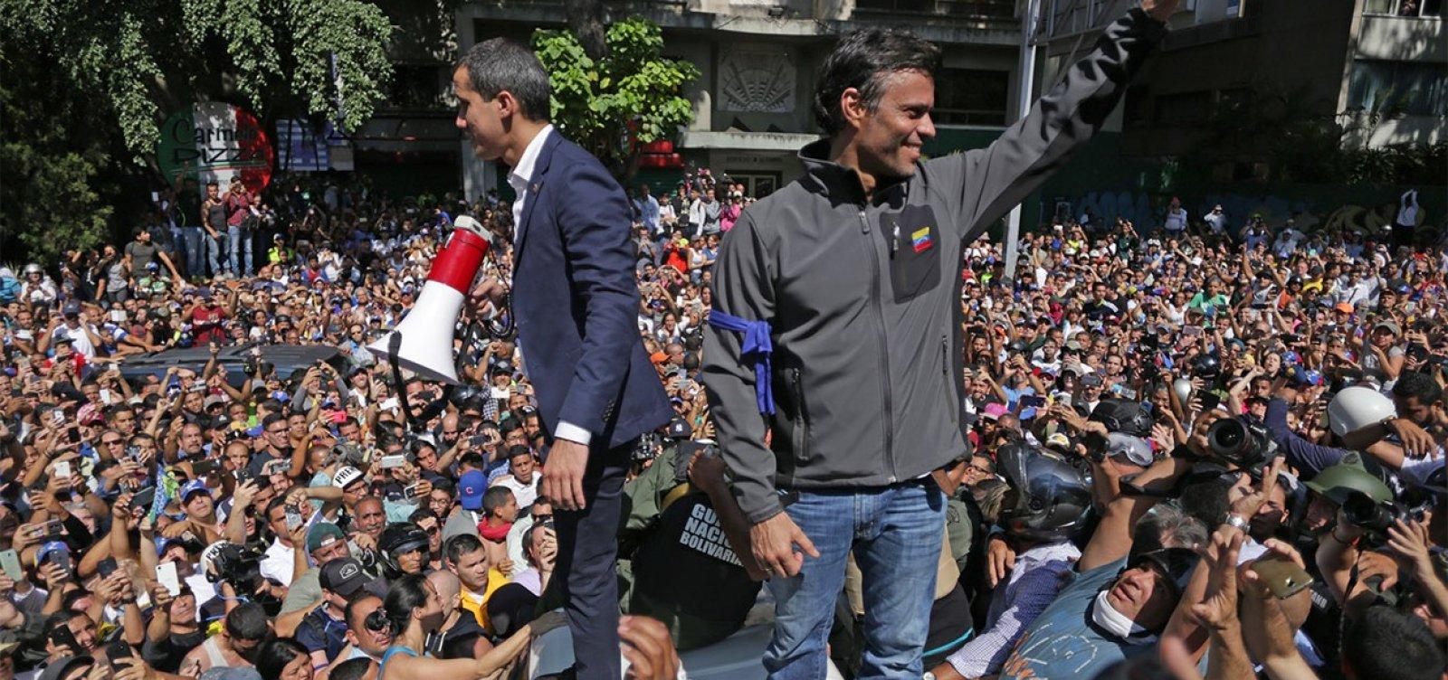 [Guaidó convoca novas manifestações contra Maduro]