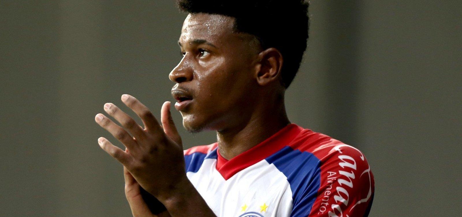 [Bahia pode 'almejar coisa grande' no Brasileirão, defende Eric Ramires]