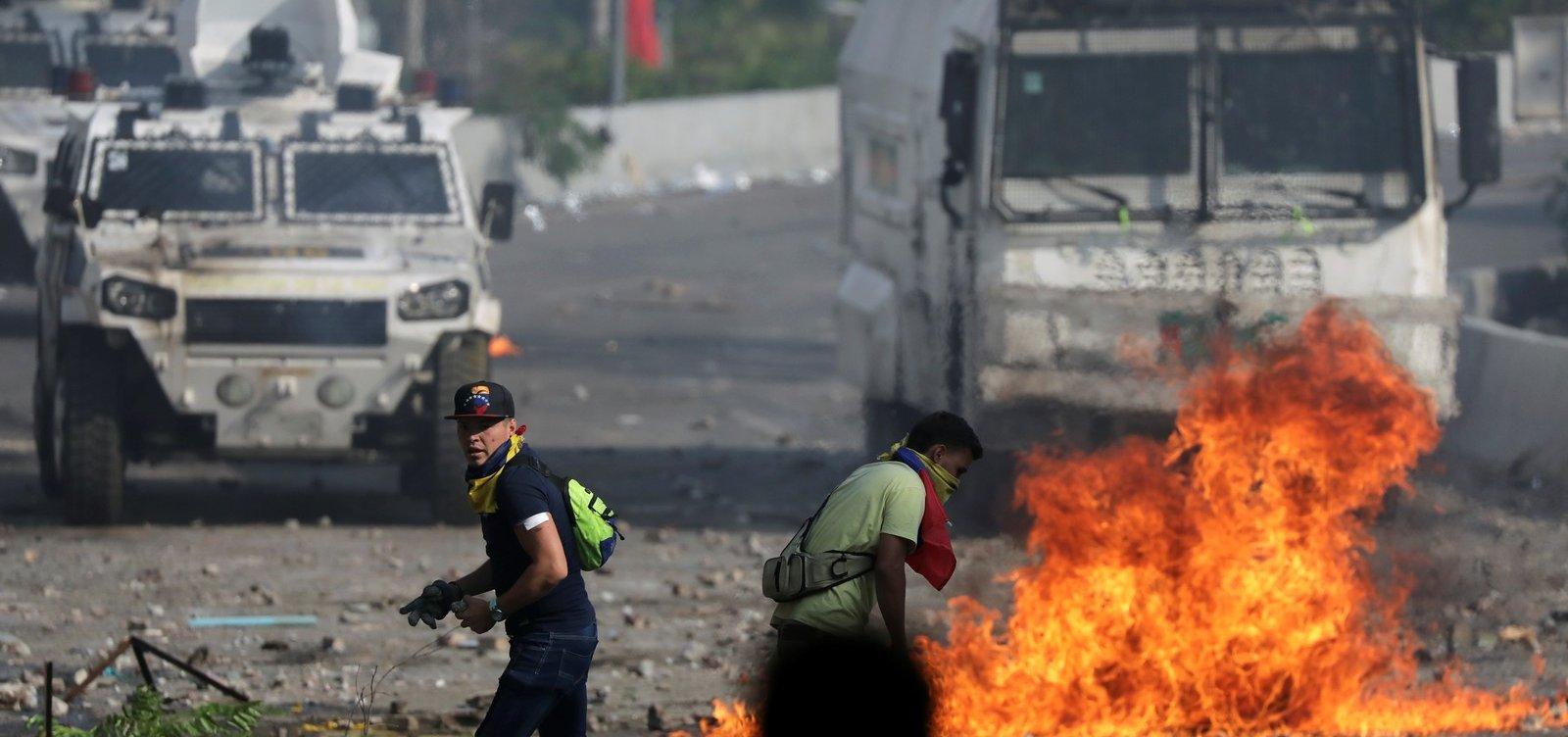 [Sobe para dois número de mortos durante protestos na Venezuela]