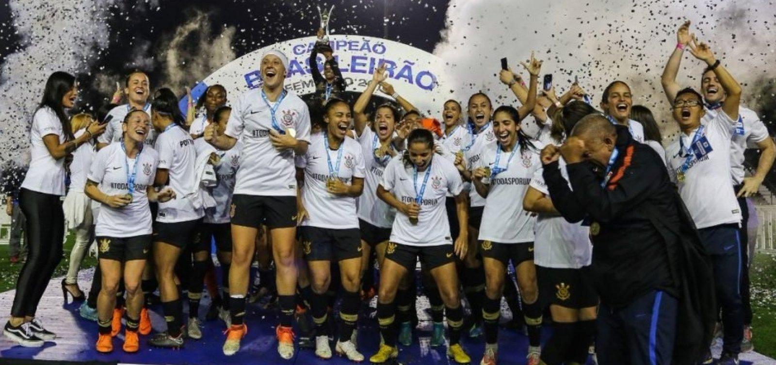 [Band vai exibir Campeonato Brasileiro de futebol feminino]