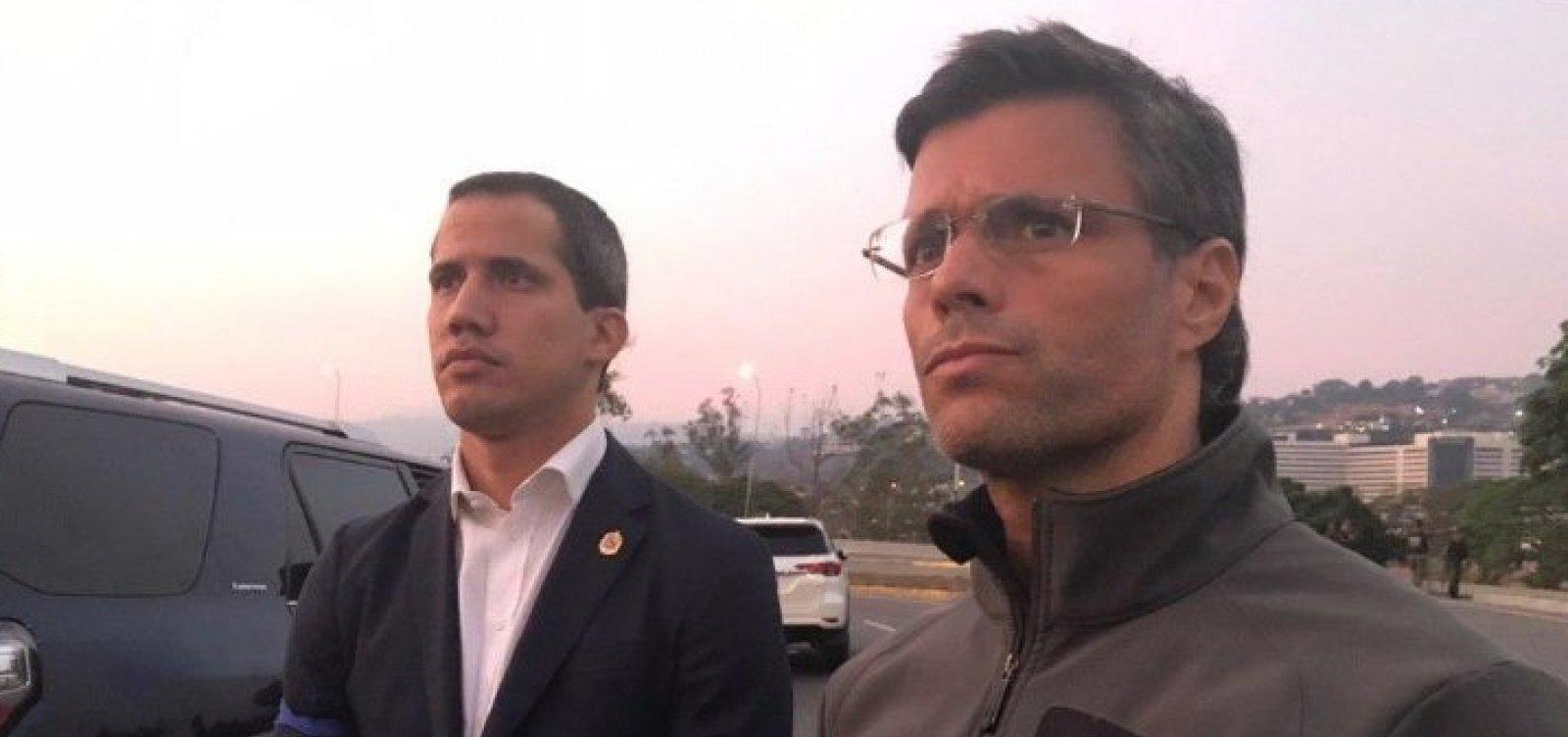 [Justiça venezuelana emite mandado de prisão contra Leopoldo López]