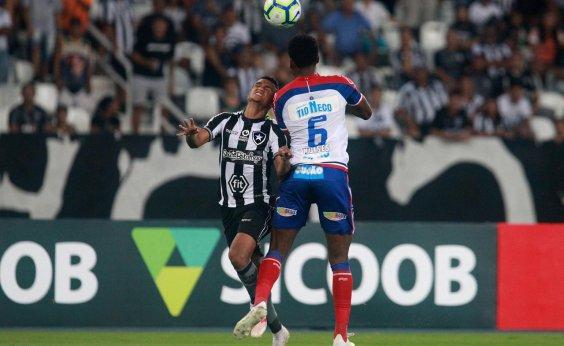 [De virada, Bahia perde fora de casa para o Botafogo]