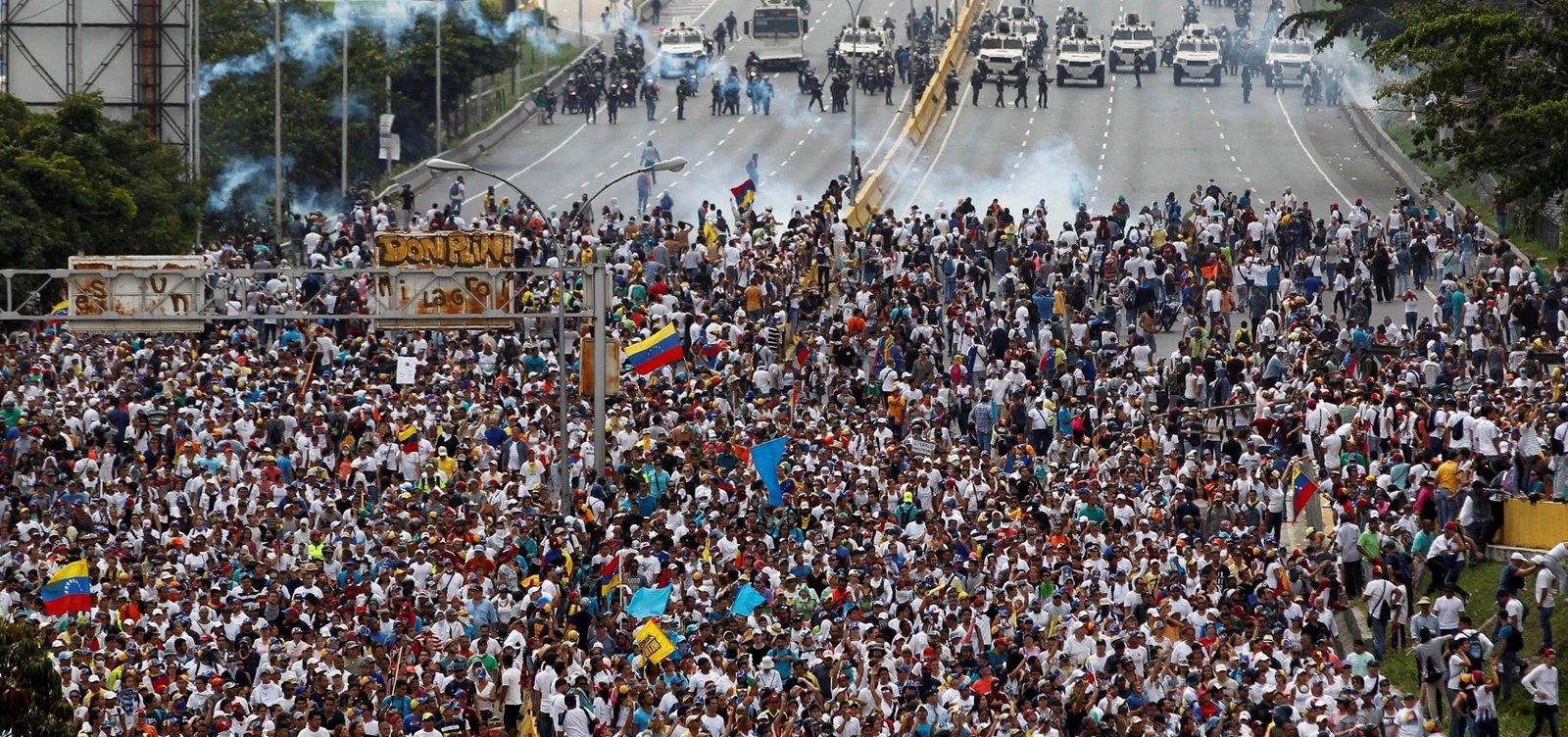 [Sobe para cinco número de mortos em protestos na Venezuela, diz ONU]