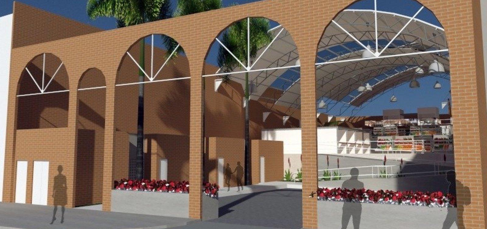[Mercado Municipal de São Cristóvão tem prazo de cinco meses para ser inaugurado]