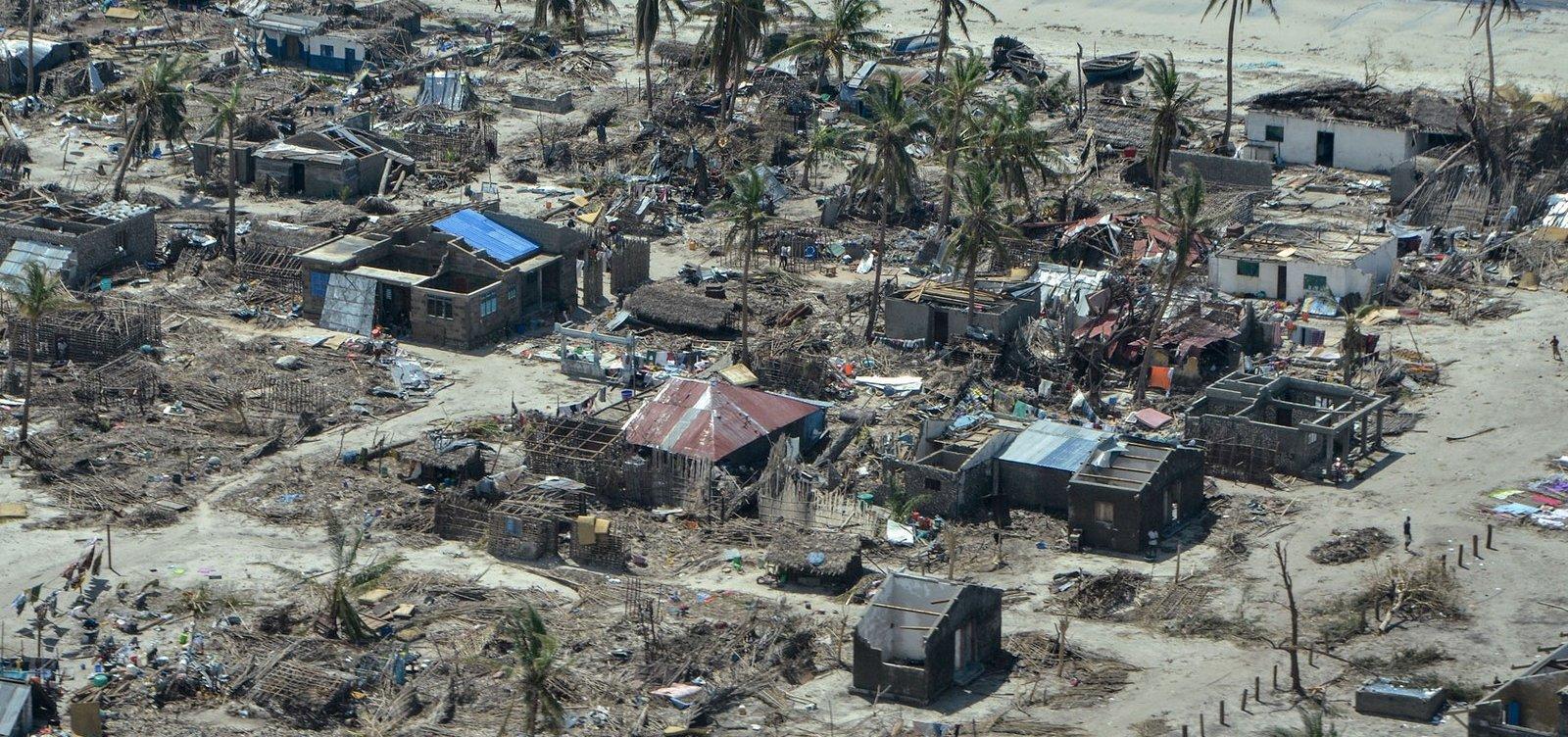 [Moçambique recebeu menos de 10% da ajuda necessária após ciclones]