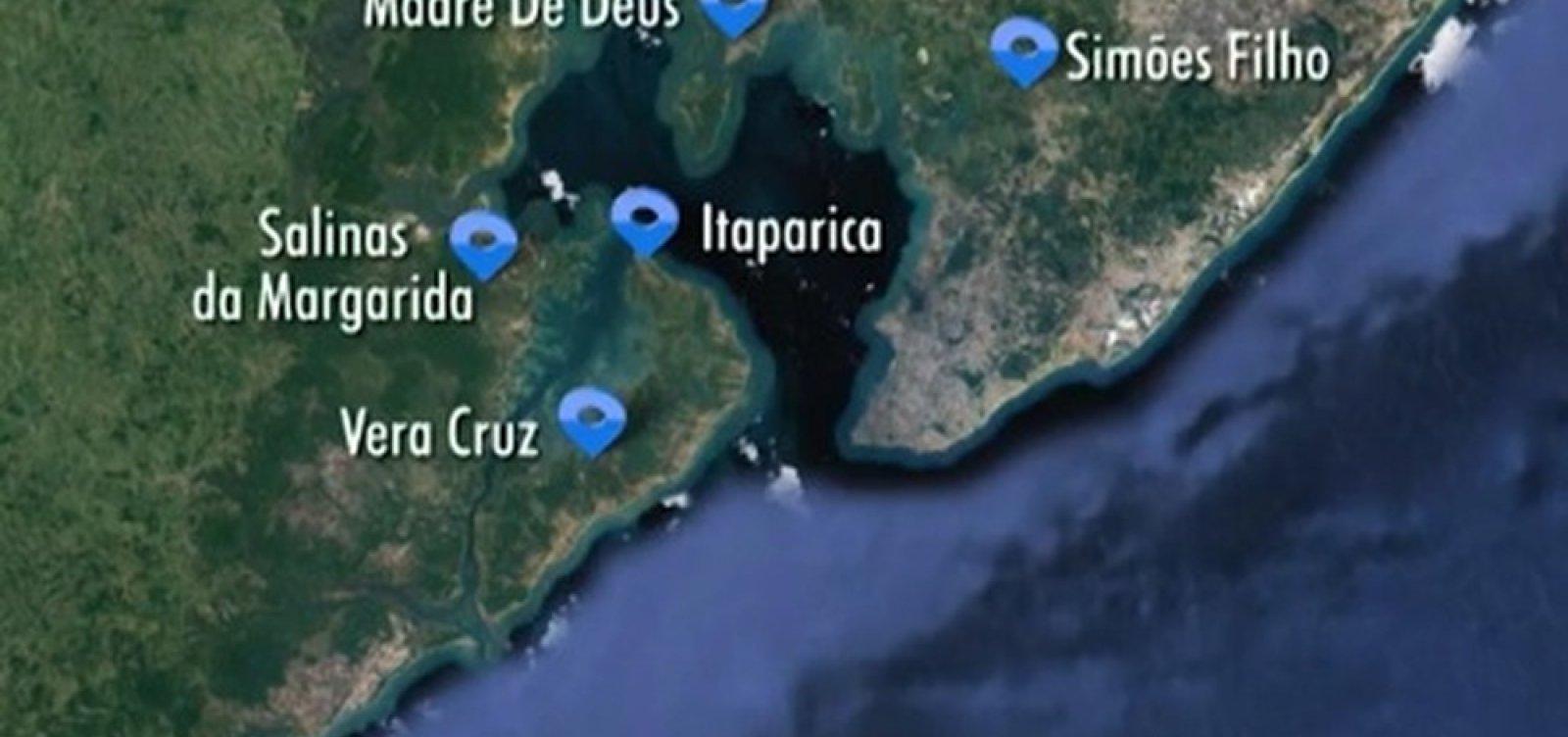 [Bahia atualiza limites de 47 municípios ]