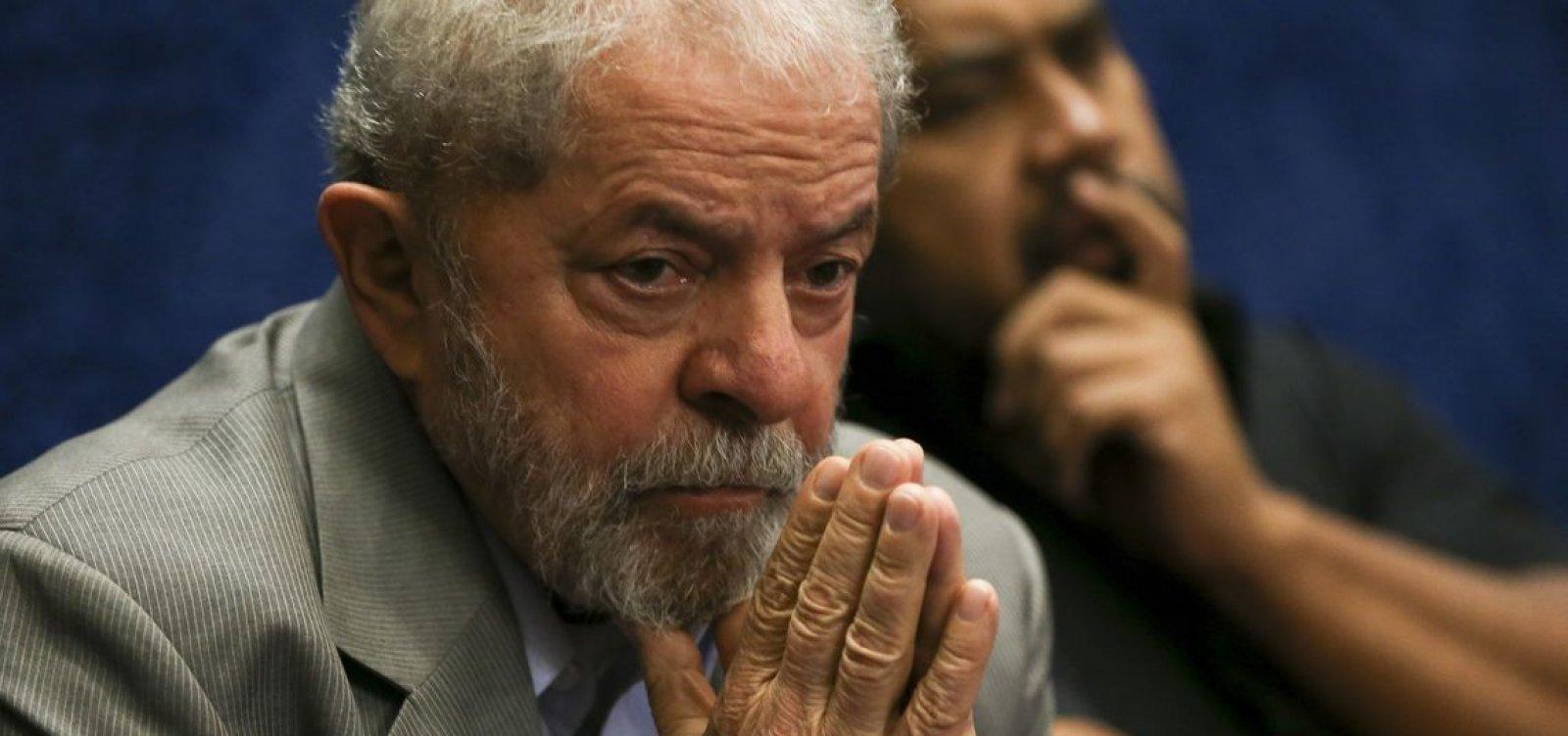 [Lula pretende pedir progressão de regime e passar para o semiaberto ]