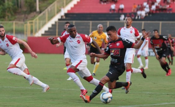 [Vitória quebra tabu de 13 jogos e vence o Vila Nova por 2 a 1 no Barradão]