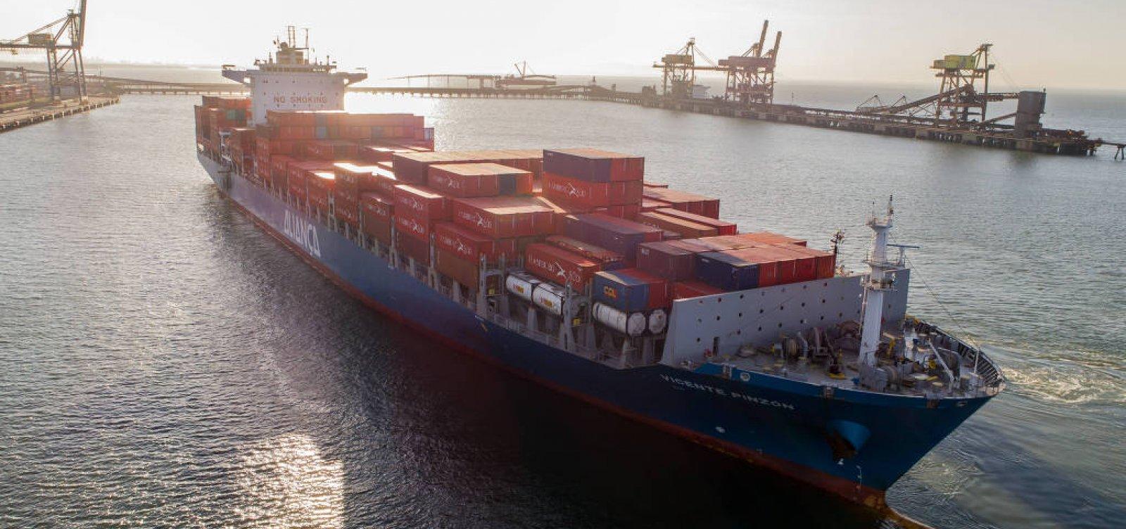 [Transporte de carga pela costa cresce 18% após greve dos caminhoneiros]