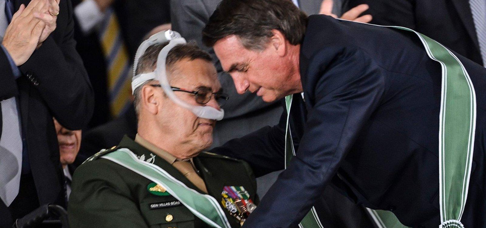 [Ex-comandante do Exército critica Olavo de Carvalho: 'Vazio existencial']