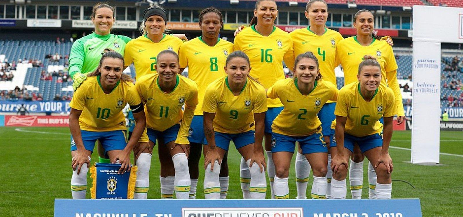 [Fifa cria novos prêmios femininos para promover igualdade de gênero]