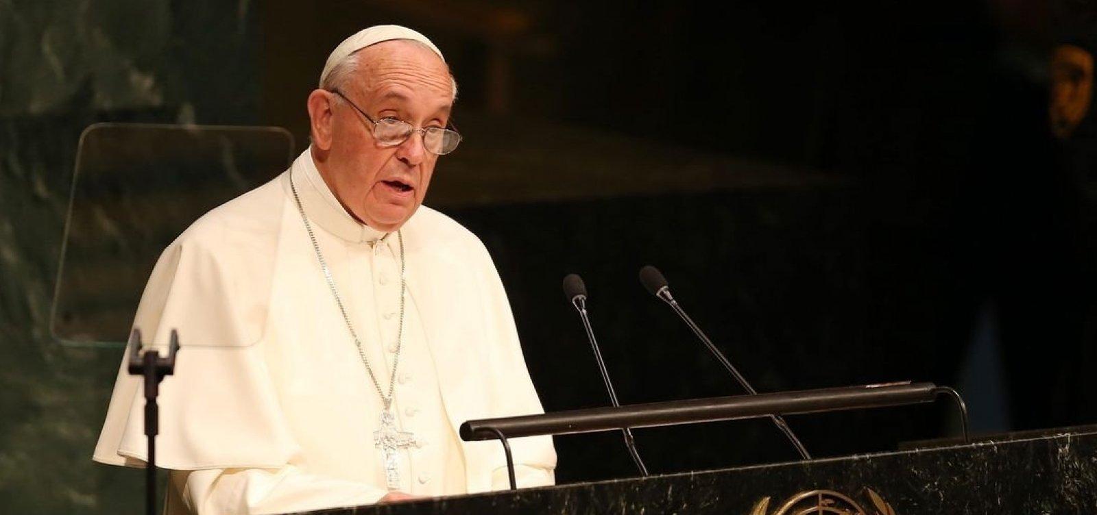 [Papa Francisco receberá bispos da CNBB]
