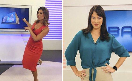 [Lados da mesma moeda: Senra comemora 1 ano de TV Bahia; Camila Marinho lembra despedida]