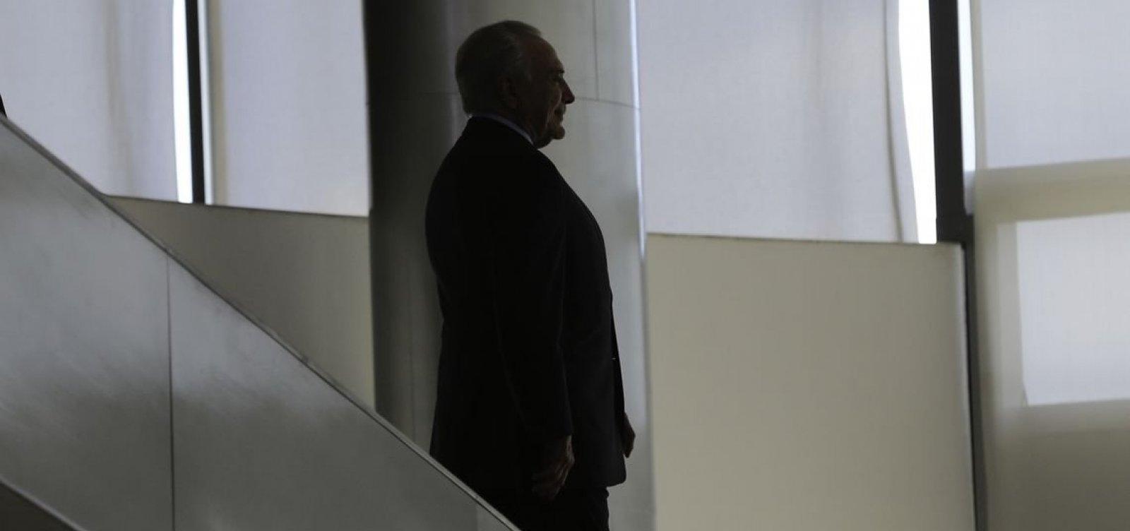 [Justiça determina bloqueio de R$ 32,6 milhões de Temer, Lima e sócio]
