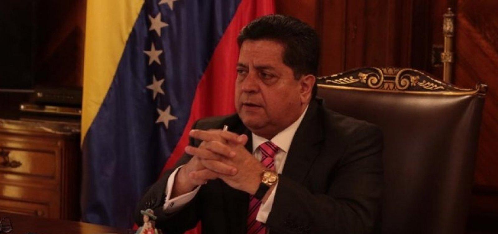 [Vice-presidente do parlamento da Venezuela é preso]