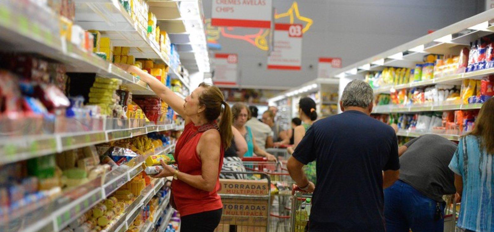 [Inflação de abril fica em 0,57%, maior taxa desde 2016]