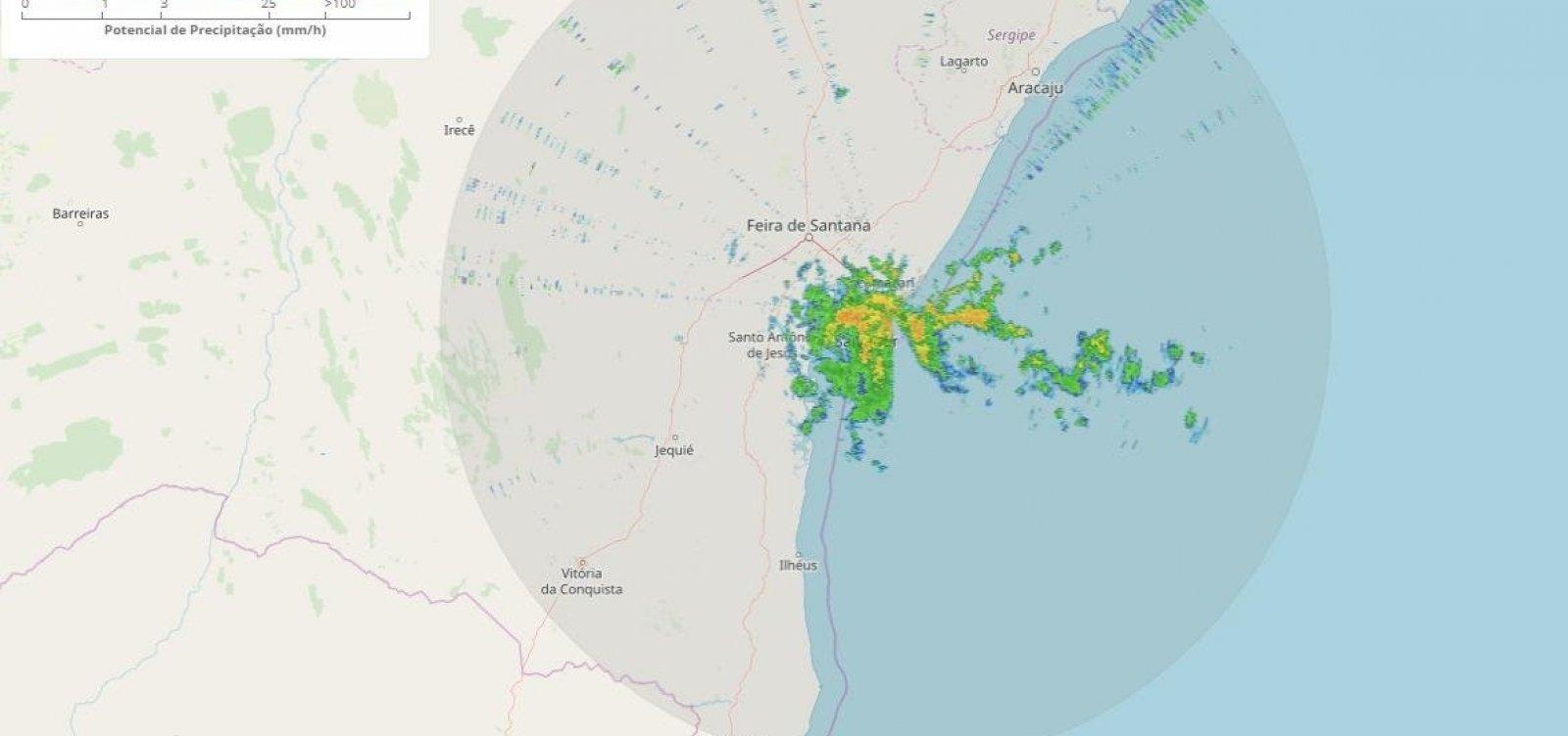 [Defesa Civil emite alerta de deslizamentos após chuvas em Salvador]