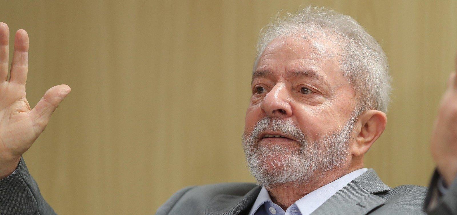 [Defesa pede que STJ conceda prisão domiciliar a Lula]
