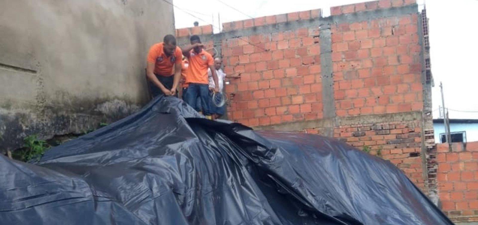 [Prefeitura de Simões Filho decreta situação de emergência após chuvas]