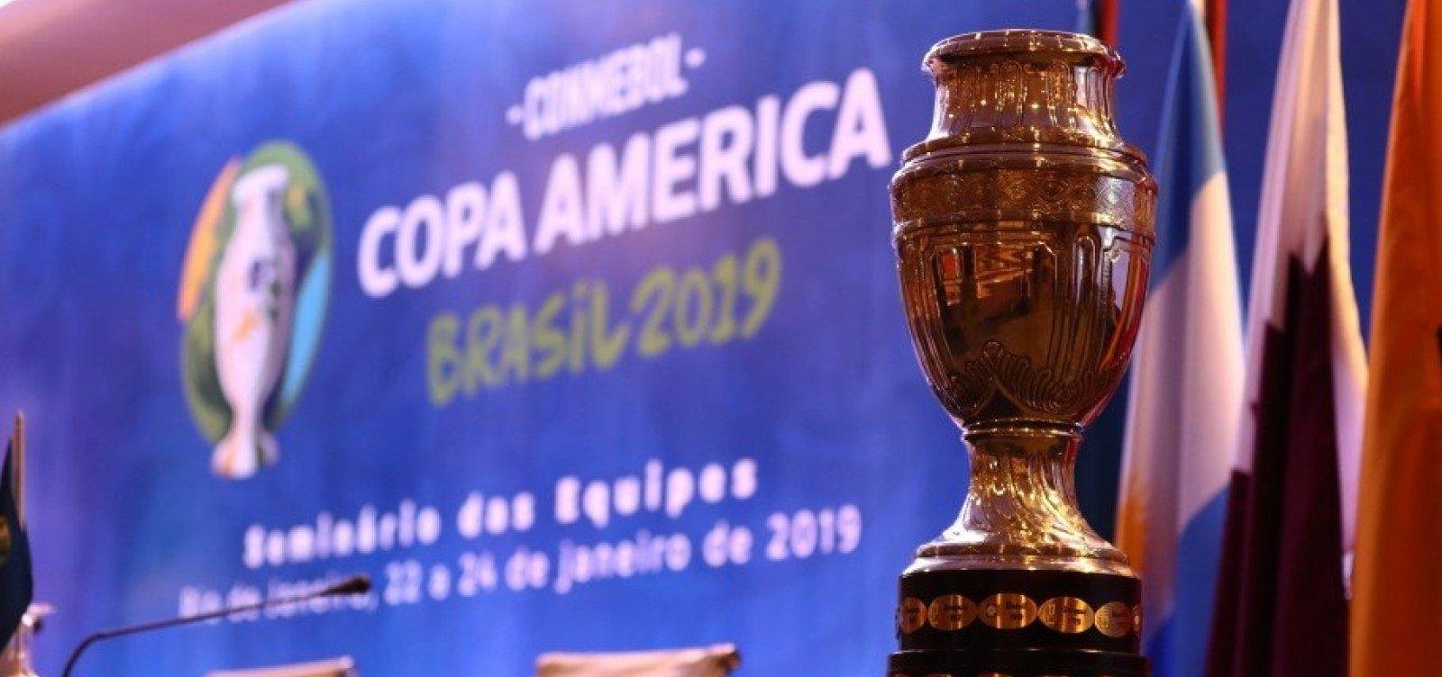 [Torcedores violentos serão barrados no Brasil durante a Copa América]