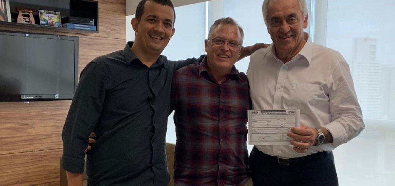 [Otto filia mais um e PSD passa a ter 91 prefeitos na Bahia]