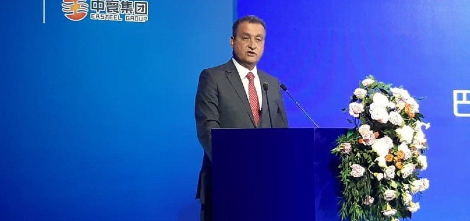 [Acordo entre Bahia e China deve criar 30 mil empregos, diz governador]