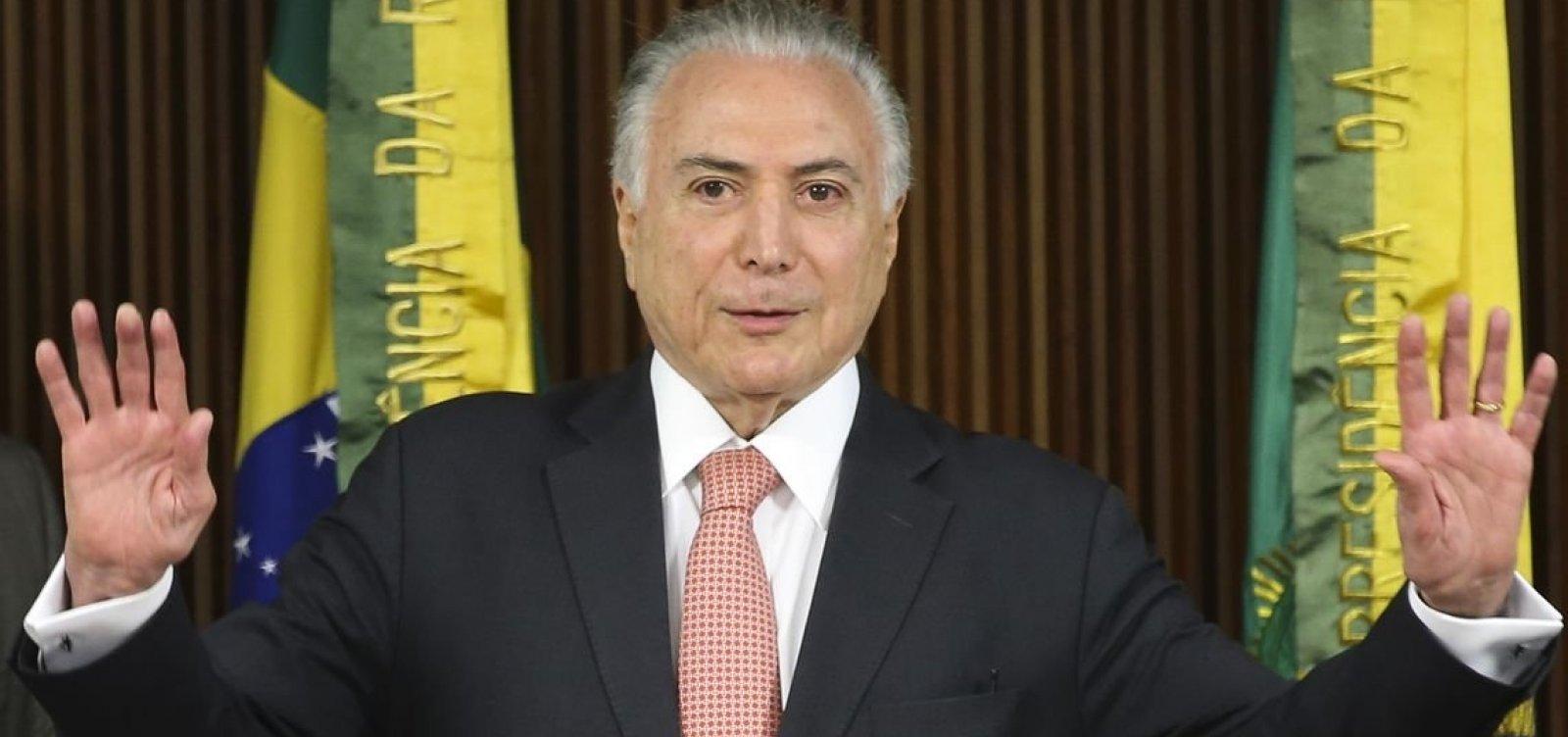 [Ministro do STJ se declara impedido para julgar liberdade de Temer]