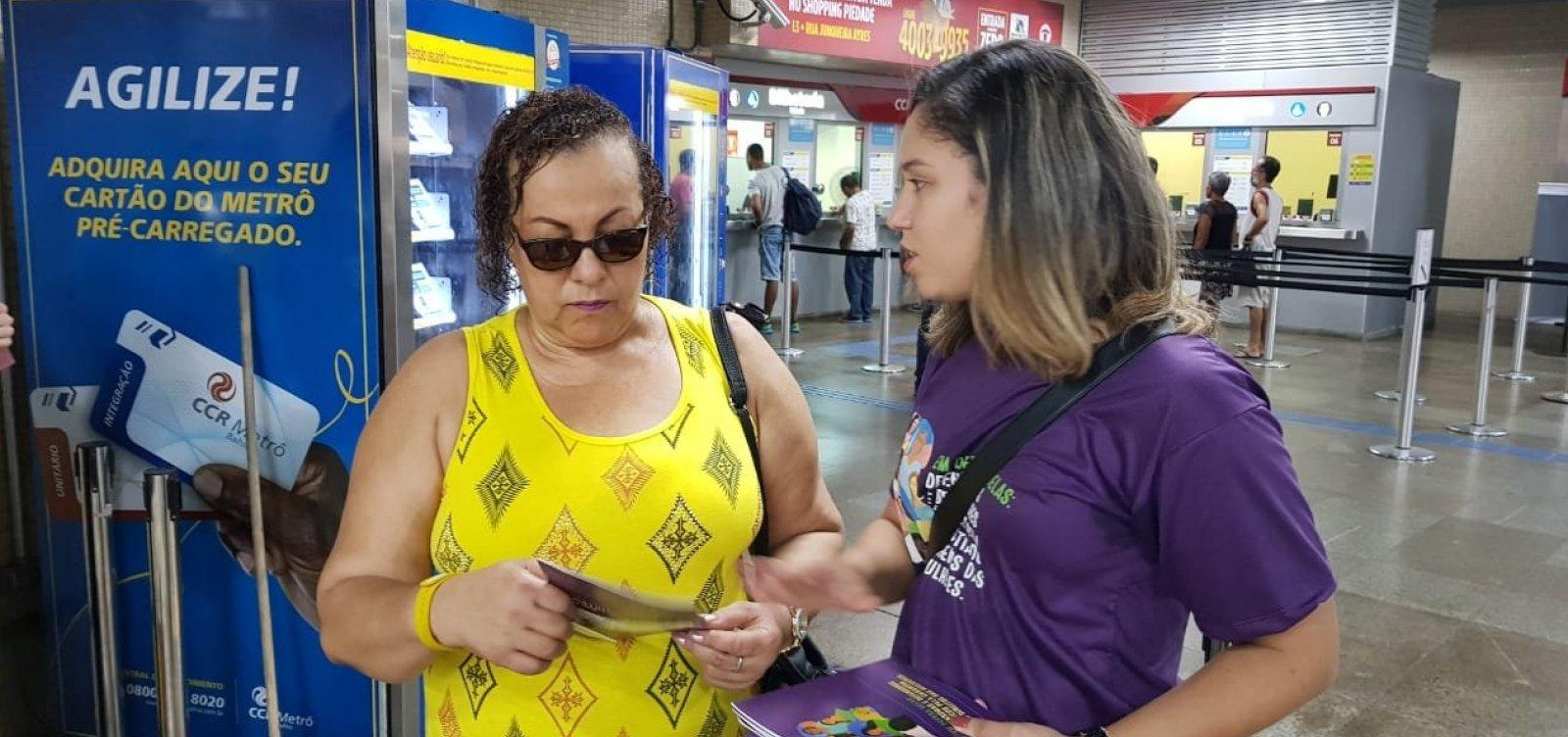 [Campanha sobre direitos das mulheres é lançada em Salvador]