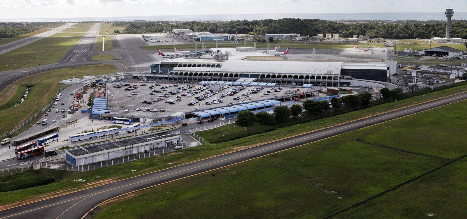 [Obras e vento forte impedem pousos no Aeroporto de Salvador]