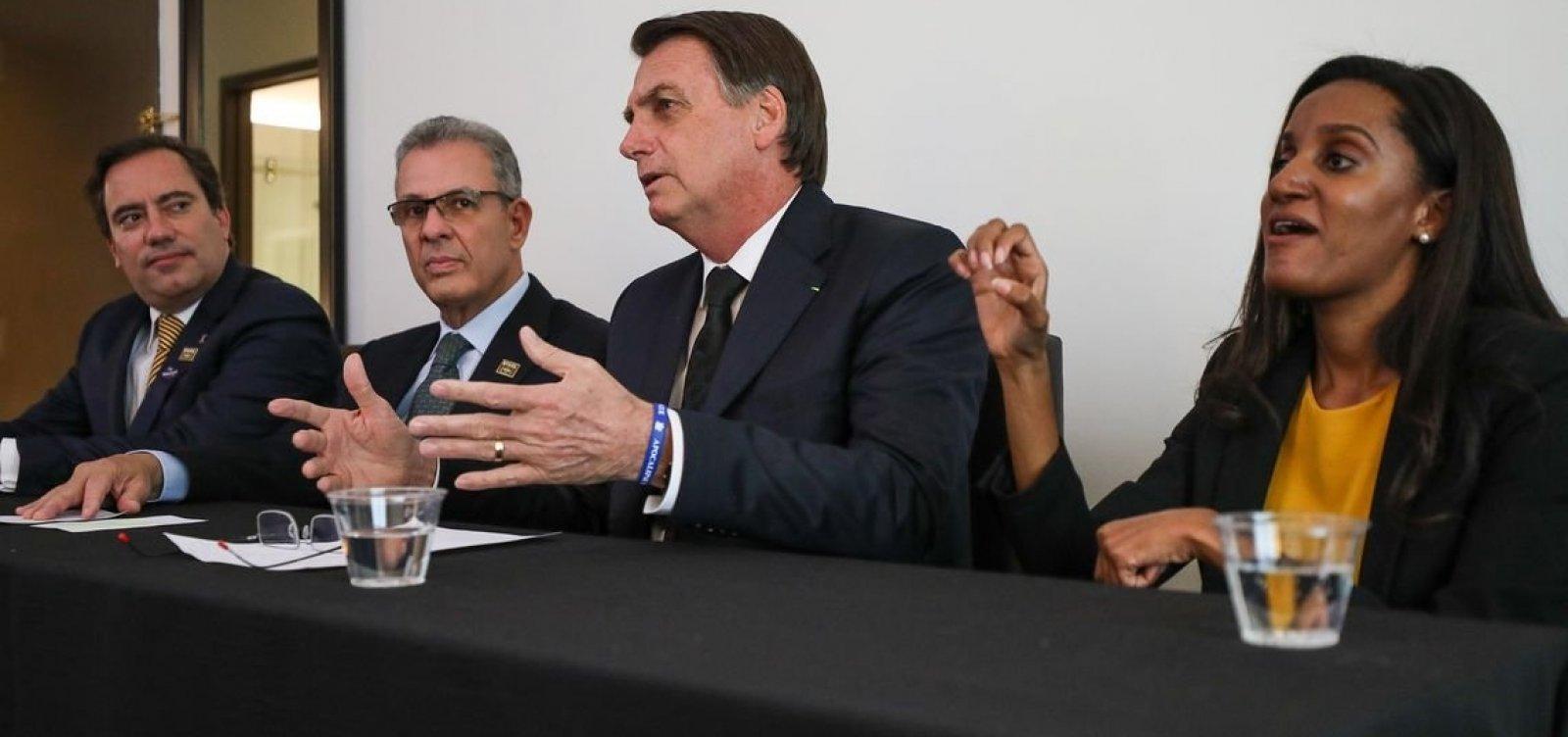 [Bolsonaro diz que 'não teve nenhum acordo, nada', sobre indicação de Moro ao STF]