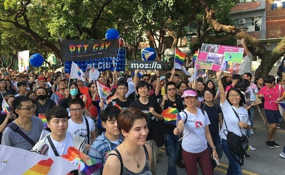 [Taiwan se torna primeiro país da Ásia a legalizar casamento gay]