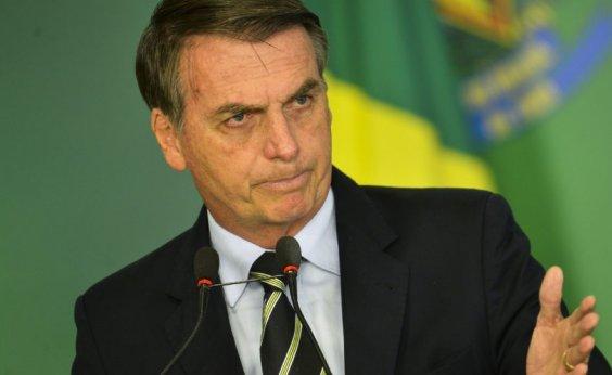 [Bolsonaro sanciona, com um veto, projeto que anistia multas de partidos]