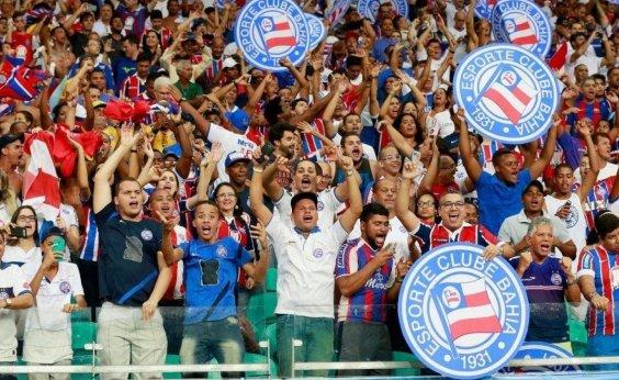 [Bahia está entre os 10 clubes que mais arrecadam com bilheteria no país]