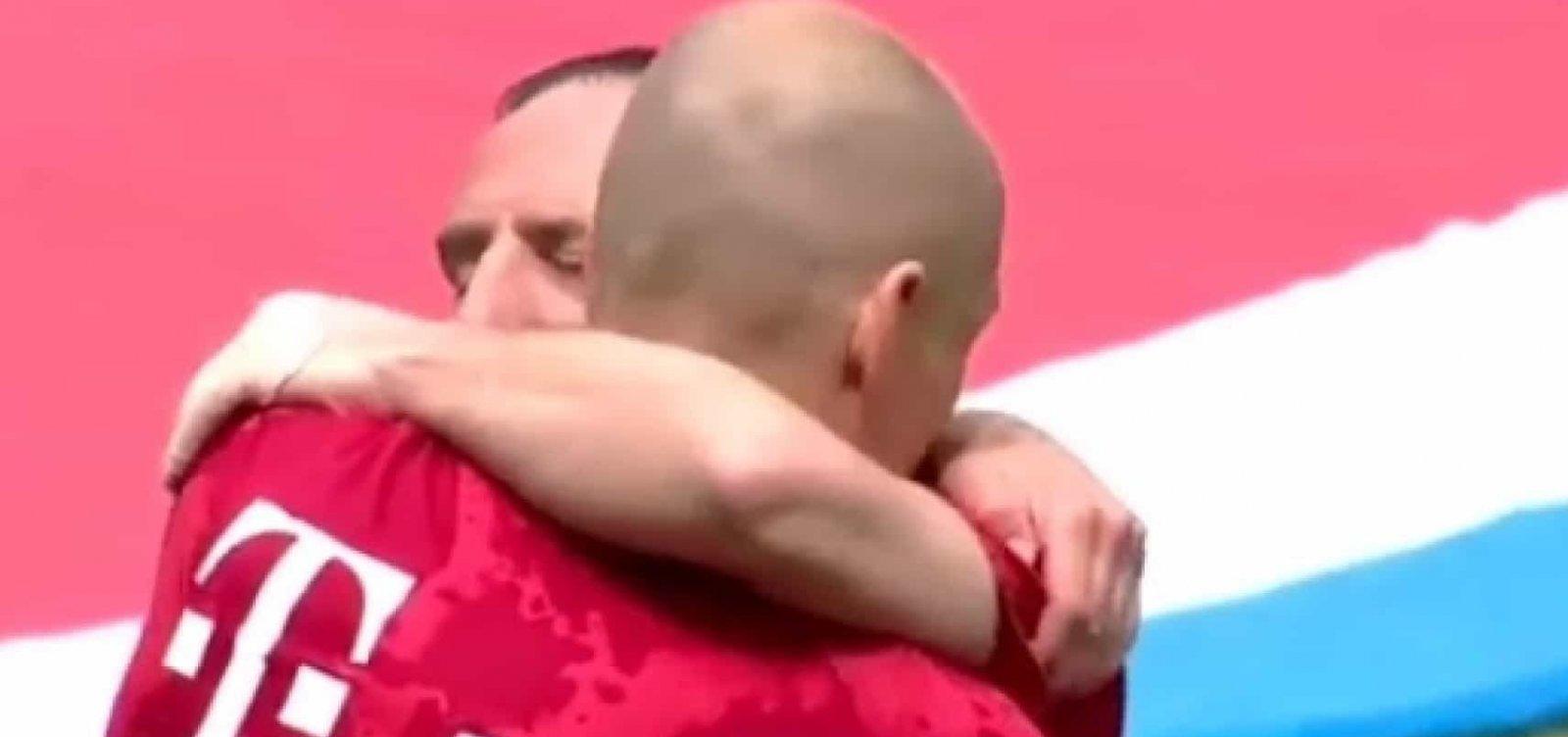 [Multicampeões, Robben e Ribéry se despedem do Bayern de Munique com título do Alemão]