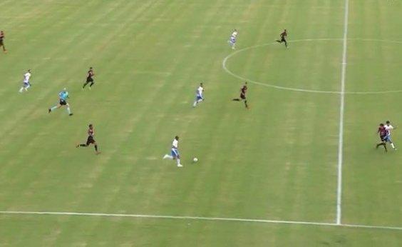 [De virada, Vitória perde por 3 a 1 para o São Bento no Barradão]