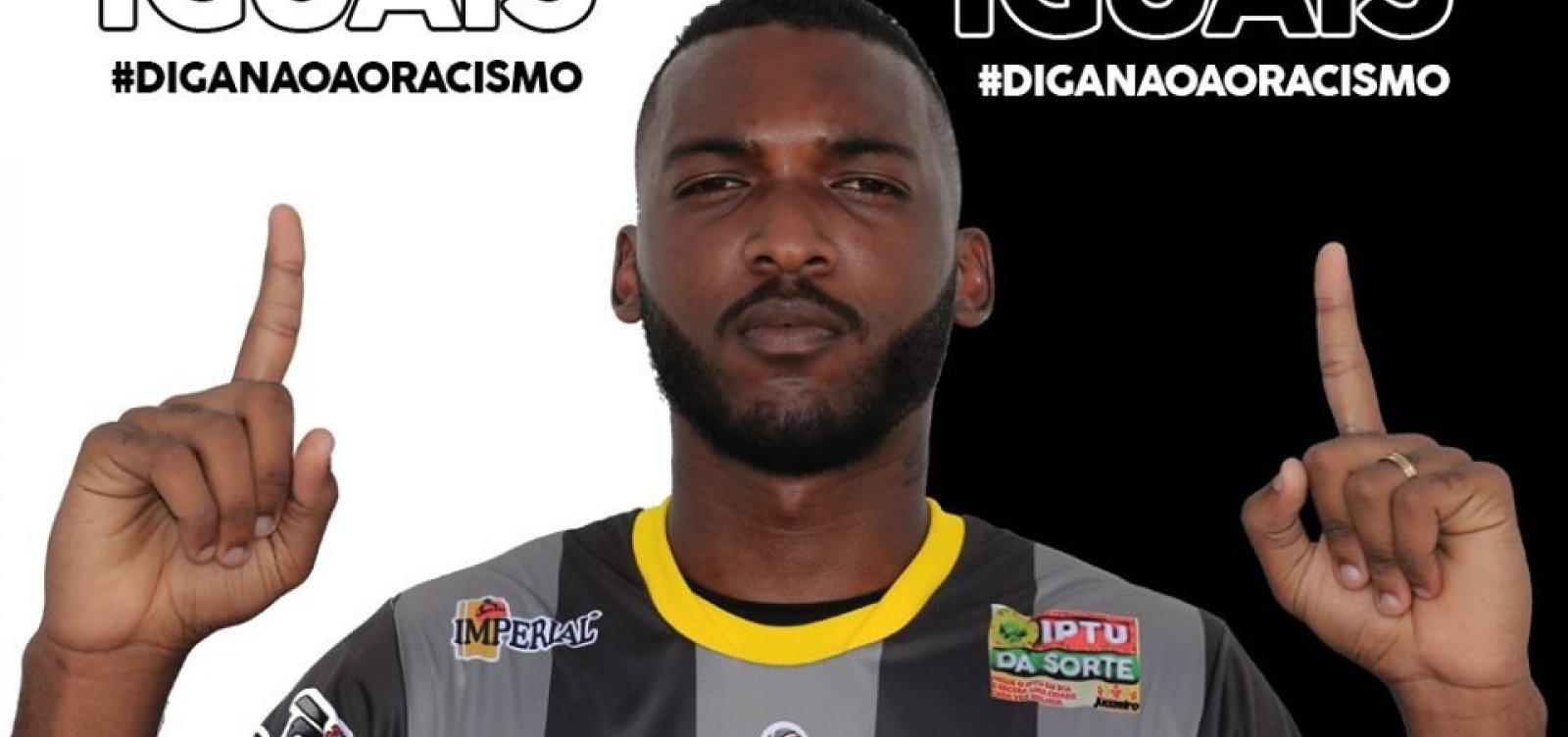 [Goleiro do Juazeirense relata ter sido chamado de 'macaco' em partida do Brasileirão]