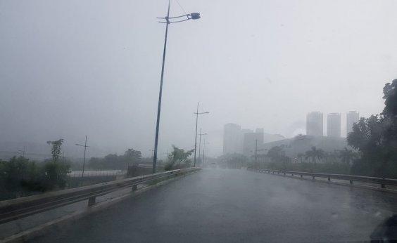 [Chuva causa alagamentos e derruba árvore em Salvador; Codesal registra 12 solicitações]