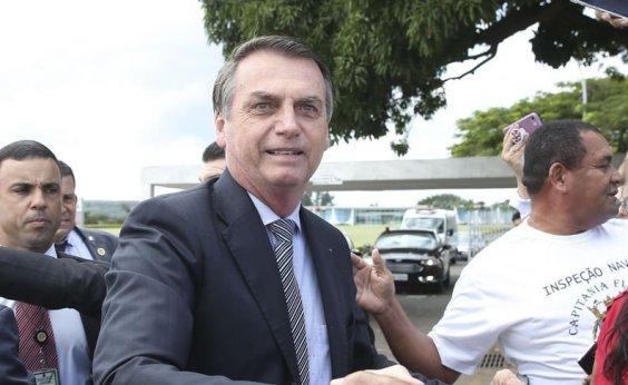 [Bolsonaro diz que Brasil é 'um país maravilhoso, mas o grande problema é a classe política']