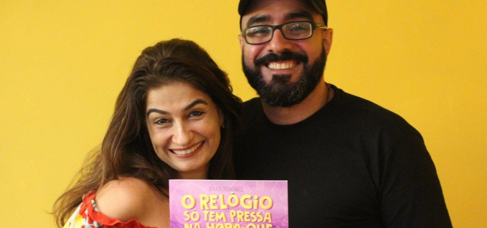 [Escritora Renata Fernandes lança livro infantil neste domingo]