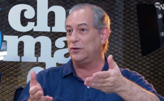 ['Bolsonaro está chamando um cadáver para as ruas', diz Ciro sobre manifestações]