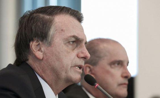 [Bolsonaro diz que não irá às manifestações a seu favor]